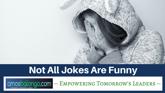 Not all jokes are funny