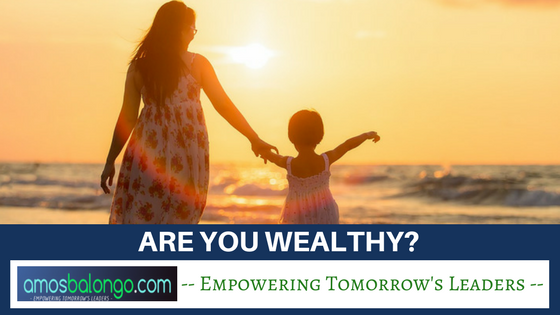Are You Wealthy_
