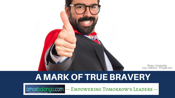 A Mark of True Bravery
