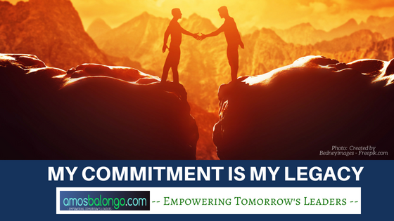 My Commitment My Legacy
