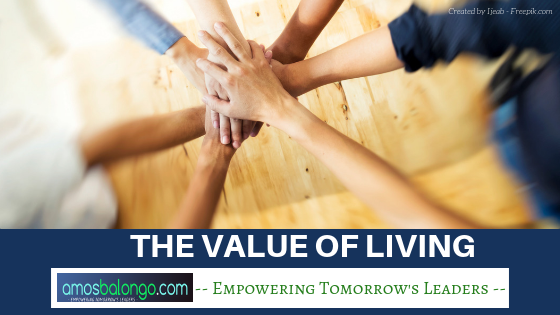 The Value of Living